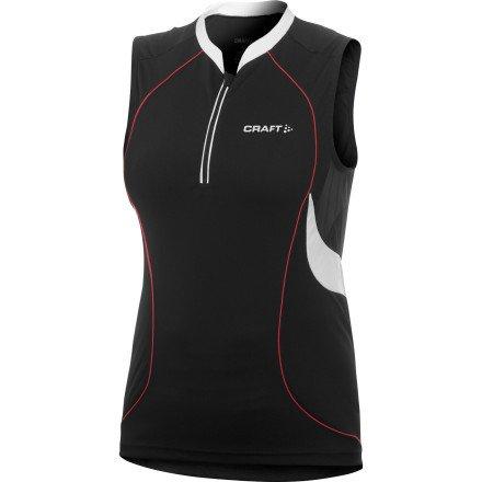 Image of Craft Active 1/2-Zip Jersey - Sleeveless - Women's (B007Q035ZE)