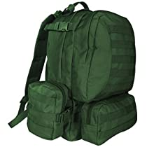 Olive Drab 2.5 Liter Advanced Assault Pack - 20 x 15 10, Water/Recrational Backpack Bag