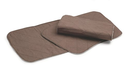 Graco 2 Pack Changing Table Pad Covers, Arden Brown (Discontinued by Manufacturer)