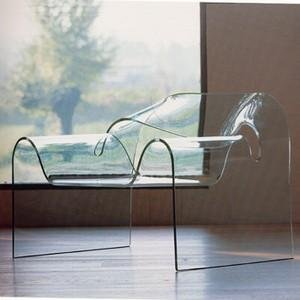 ghost chair by cini boeri for fiam