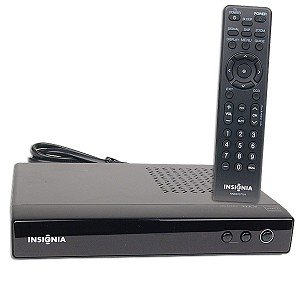 Lowest Price! Insignia NS-DXA1 Digital to Analog TV Tuner Converter Box for Regular TV Sets