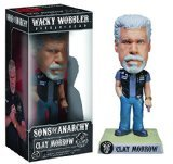Sons of Anarchy Clay Wacky Wobbler