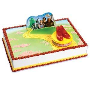 Wizard of Oz Ruby Red Slippers Birthday Cake Decorating Kit: Amazon.in: Toys & Games