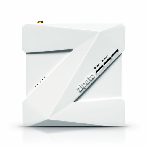 Zipabox Main Unit, Z-Wave Next Generation Automation Controller Sleek Modular Design Speaks Z-Wave, Zb.Zwus, White front-95199