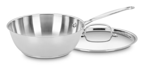 Cuisinart 735-24 Chef's Classic Stainless 3-Quart Chef's Pan with Cover