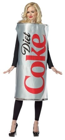 Rasta Imposta Women's Diet Coke Can Costume