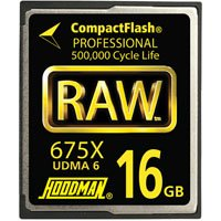 Hoodman RAW6-CF16GBRAW 16GB CompactFlash Card 675X