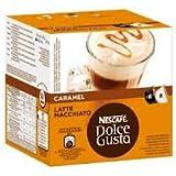 Nescafe Dolce Gusto Caramel Latte Macchiato x 2 pack (32 pods, 16 servings)