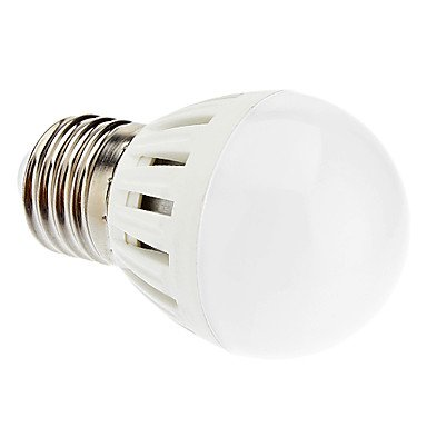 Aoa - E27 G45 5W Ceiling Fan 10X5730Smd 420Lm 6000K Cool White Light Led Globe Bulb (220-240V)
