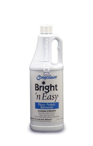 CONGOLEUM Maximum Strength BRIGHT 'N EASY Polish Remover 32 oz