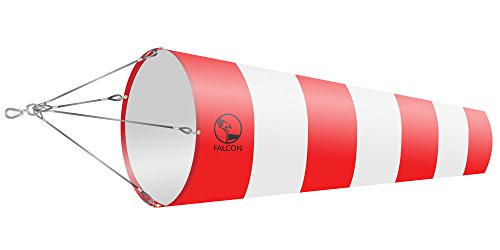 FALCON-Manica a vento a forma di alta qualità, motivo a righe, per & settore dell
