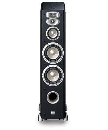 JBL L880 4-Way, High Performance 6-inch Dual Floorstanding Loudspeaker (Black)