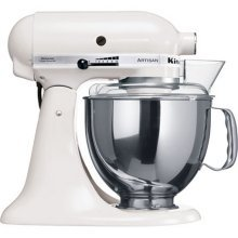 KitchenAid Artisan Stand Mixer in White 5KSM150BWH from Kitchenaid