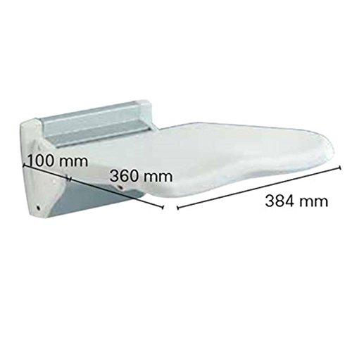 Invacare Futura R8802 - Sedile per doccia, colore: bianco