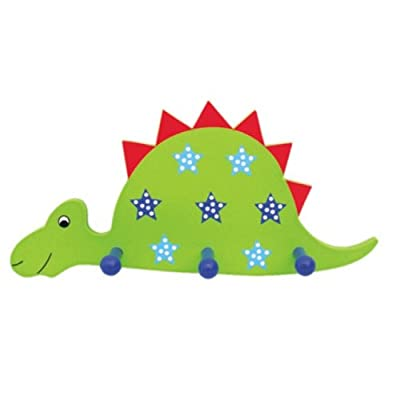 Fun Dinosaur Wooden Clothes Hanger For Children / Boys