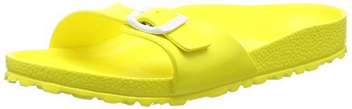 BirkenstockMadrid EVA - Ciabatte Donna , Giallo (Gelb (Neon Yellow)), 37