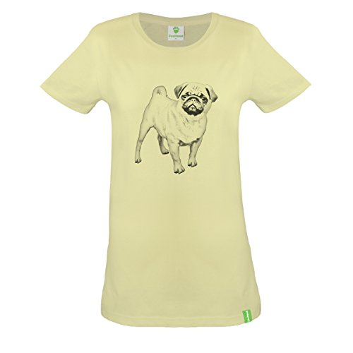 Carlin-Portrait-T-shirt-en-coton-biologique-femmes