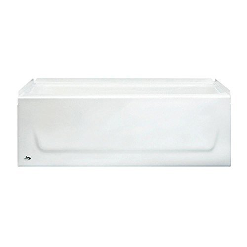Buy Bargain Bootz 011-2303-00 Kona 4-1/2' Left-Hand Drain Soaking Tub in White