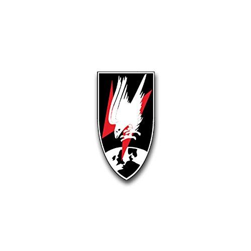 Aufkleber / Sticker - Nachtjagdgeschwader Deutschland Wh Luftwaffe NJG Jagdgeschwader Wappen Abzeichen Emblem passend für VW Golf Polo GTI BMW 3er Mercedes Audi Opel Ford (4x7cm)#A1589