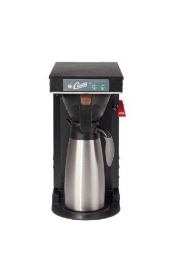 Wilbur Curtis G3 Low Profile Airpot Brewer 2.5L Airpot/Pourpot Single Low Profile Coffee Brewer Black Texture Finish - Commercial Airpot Coffee Brewer  - TLP (Each)