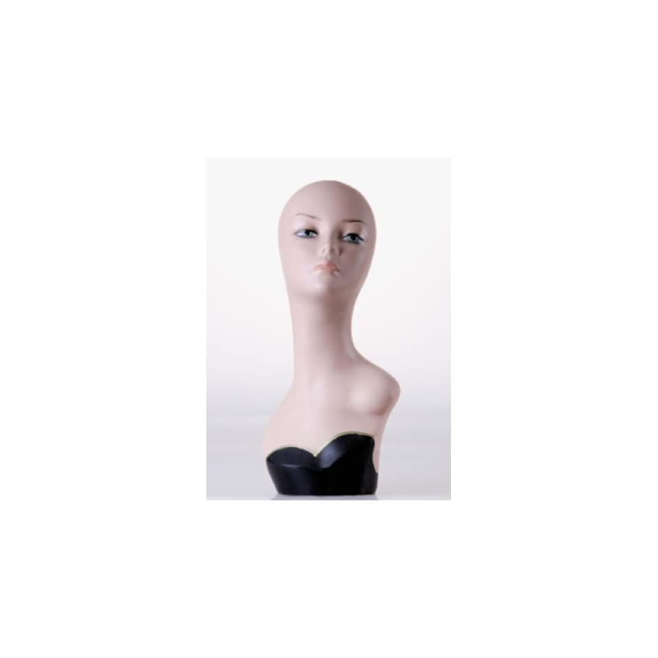 New Female Mannequin Head Display Bust For Jewelry, Wigs and Hats ZLXTT13