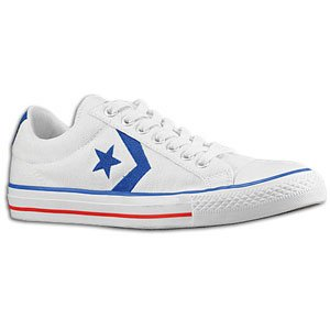 Converse Blue And White