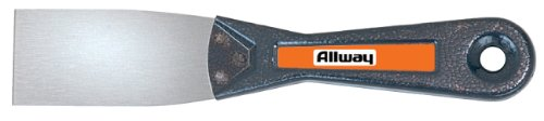 Allway Tools 1-1/2-Inch Tempered Steel Metal Handle Flexible Putty Knife