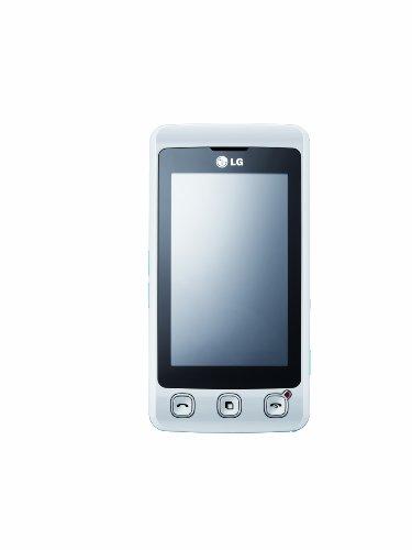 LG KP500 Cookie (3MP Kamera, MP3) white aqua Smartphone
