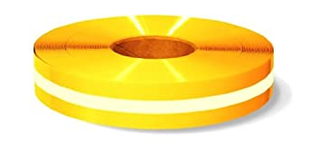 Mighty Line Nonabrasive Floor Marking Tape with Glow In The Dark Center