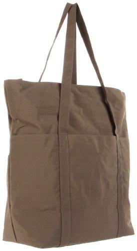 Baggallini Expandable Tote Bag, Dark Olive