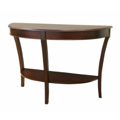 Frenchi Home Furnishing Half Round Sofa Table