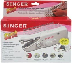 Singer Stitch Sew Quick Hand Held Sewing Machine 01663; 3 Items/Order