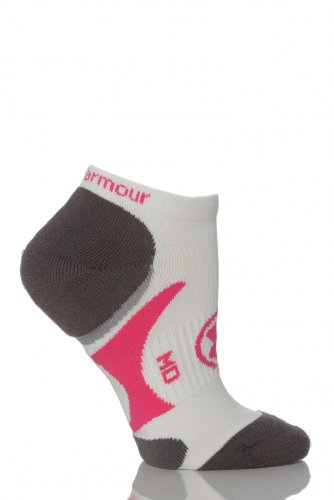 Ladies 1 Pair Under Armour Armourblock Catalyst No Show Training Socks