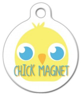 Chick Magnet - Custom Pet ID Tag for Dogs and