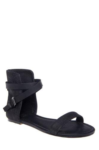 Joe's Jeans Mack Ankle Cuff Flat Sandal
