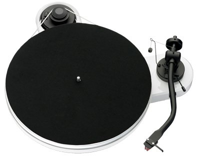 Pro-Ject RM 1.3 Turntable in White from Pro-Ject