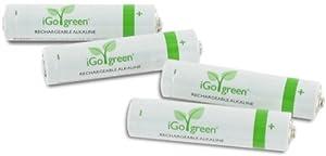 iGo 4x AAA Rechargeable Alkaline Batteries