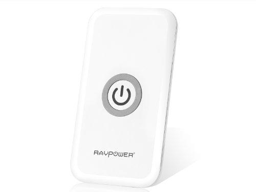 RAVPower 「Qi」規格ワイヤレスチャージャー 置くだけ充電 非接触充電 無線充電器 RP-WCN7
