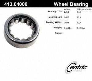 Centric 413.64000 Wheel Bearing