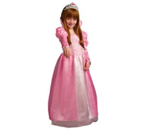 CARITAN Princess Victoria costume - Size 8-10 years + Hairdressing set
