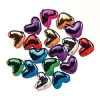 Metallic Heart Pony Assorted Colors