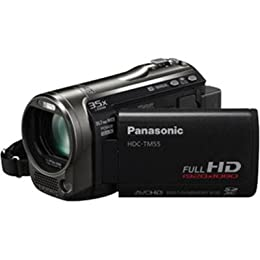 Panasonic HDC-TM55K Hi-Def Camcorder with 8GB Flash Memory 35X Intelligent Zoom Black