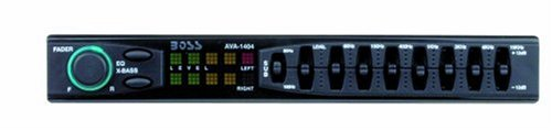 Boss Audio Ava1404 7 Band Amplified Equalizer With Subwoofer Control