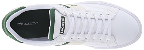 Lacoste Men's Fairlead 116 1 Fashion Sneaker, White, 10 M US