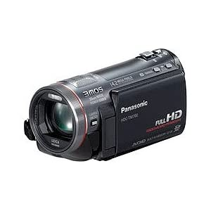 Panasonic HDC-TM700K Hi-Def Camcorder with Pro Control System & 32GB Internal Flash Memory (Black)