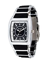 Exotica Analog Black Dial Men's Watch (EFG-01-B-N)