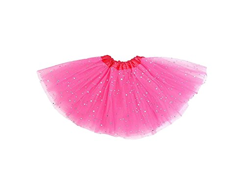 niceEshop(TM) Baby Girls Princess Stars Sequins Party Dance Tutu Skirts