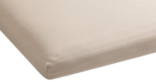 Beddinghouse Jersey mit Lycra Split-Topper-Spannbettlaken / 180/200*200/220 cm / Metallic Beige günstig