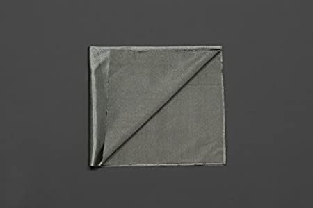 """Conductive Fabric - 12""""¡Á13"""" Medtex¡Á180,Use In E-Textiles,Silver-Plated Nylon,Highly Conductive,Lilypad Project,Medtex 130 Ag Nylon Stretch,Easily Sew"""