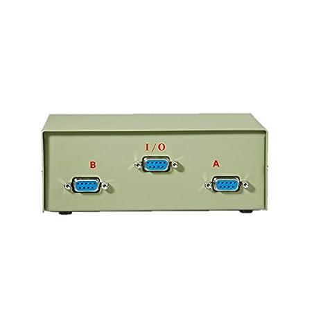 Rotronic Switchbox Commutateur d'impression 9 broches 1/2->2/1 en série